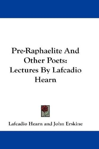 Download Pre-Raphaelite And Other Poets