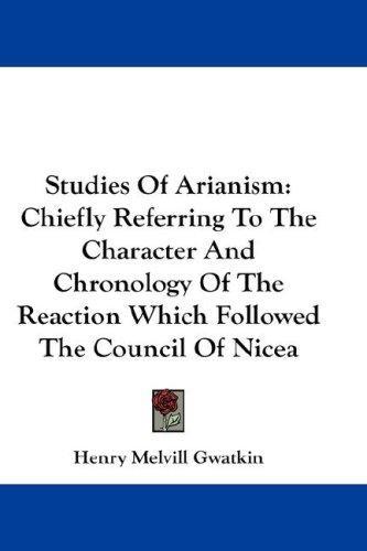 Download Studies Of Arianism