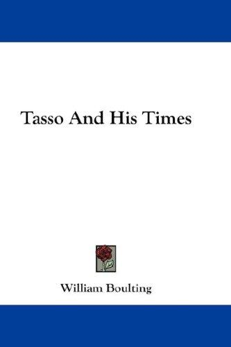 Download Tasso And His Times