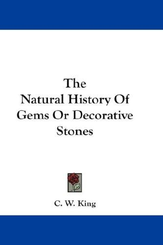Download The Natural History Of Gems Or Decorative Stones