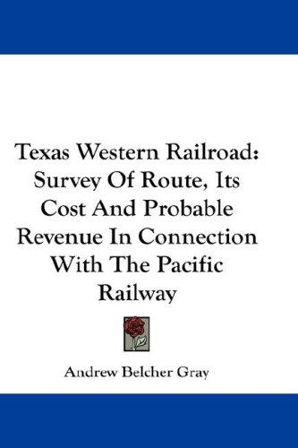 Texas Western Railroad