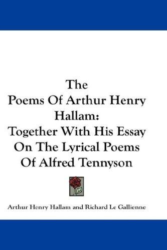 Download The Poems Of Arthur Henry Hallam