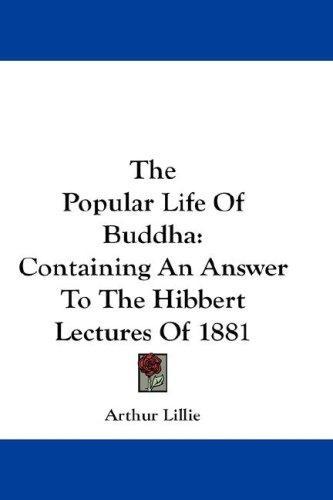 The Popular Life Of Buddha