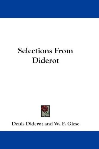 Selections From Diderot
