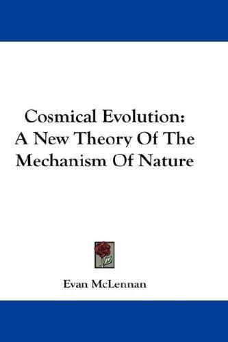 Cosmical Evolution