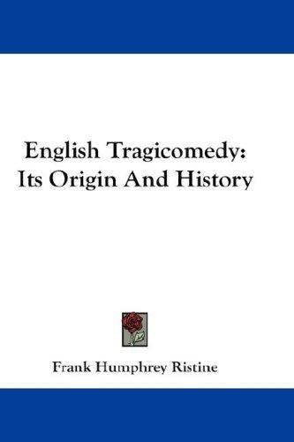 English Tragicomedy
