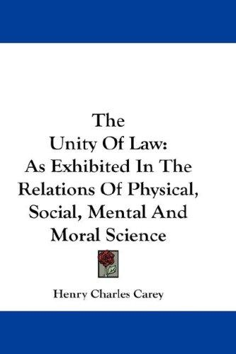 The Unity Of Law