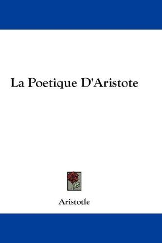 Download La Poetique D'Aristote