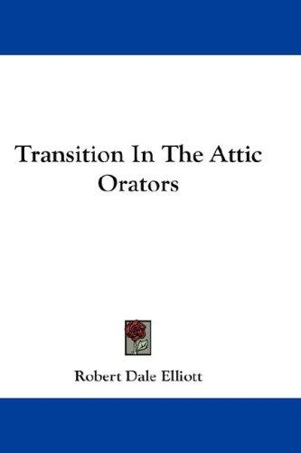 Transition In The Attic Orators