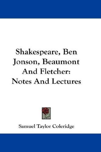 Download Shakespeare, Ben Jonson, Beaumont And Fletcher