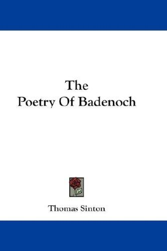 Download The Poetry Of Badenoch