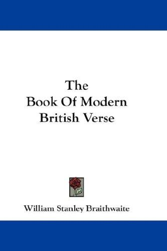The Book Of Modern British Verse