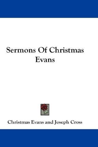Sermons Of Christmas Evans