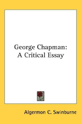 Download George Chapman