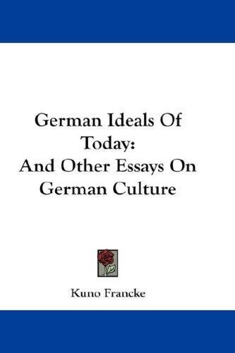 German Ideals Of Today