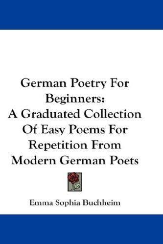 Download German Poetry For Beginners