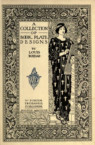 A collection of book plate designs by Louis Rhead