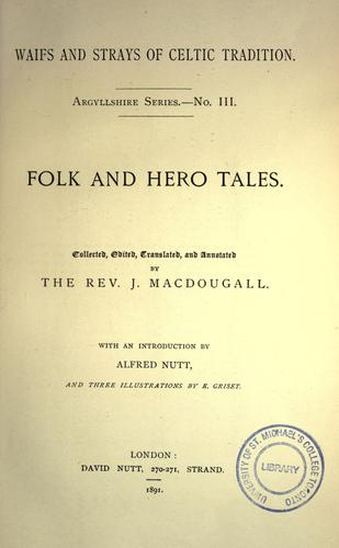 Download Folk and hero tales