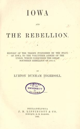 Iowa and the rebellion