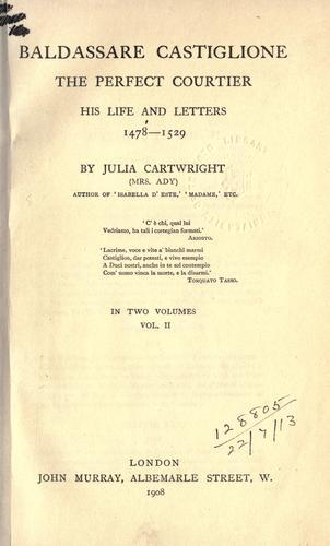 Download Baldassare Castiglione, the perfect courtier
