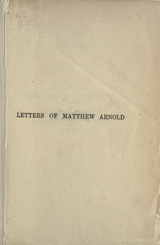 Download Letters, 1848-1888