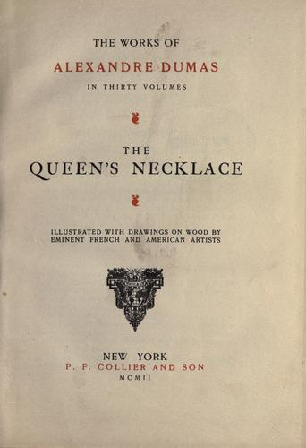 Download The queen's necklace