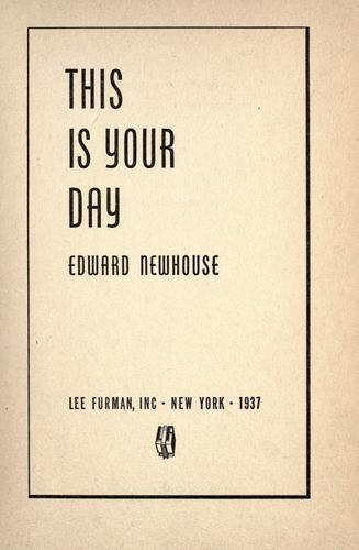 This is your day