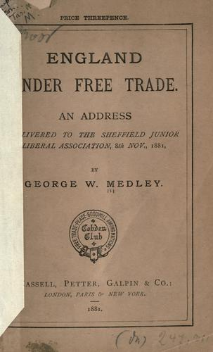 Download England under free trade