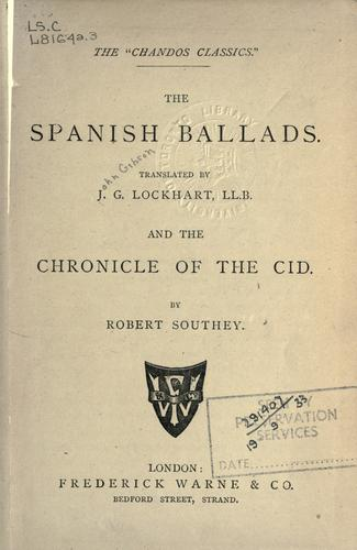 Download The Spanish ballads
