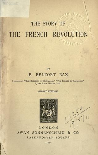 The story of the French Revolution.