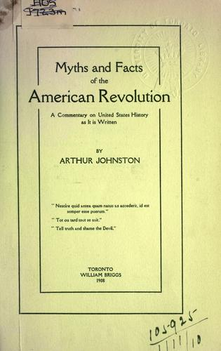 Download Myths and facts of the American Revolution
