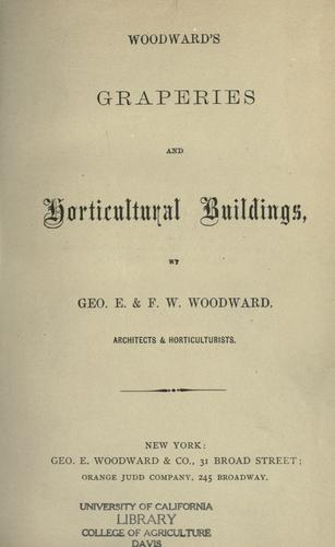 Download Woodward's graperies and horticultural buildings