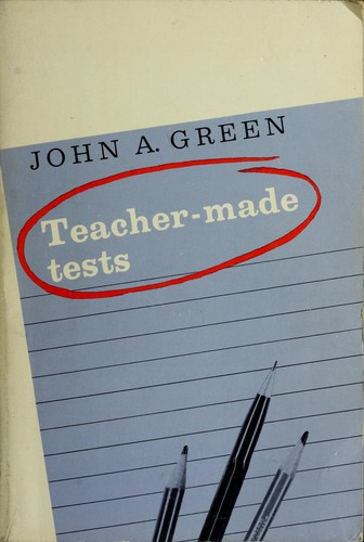 Download Teacher-made tests.