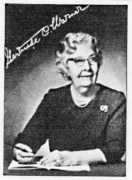 Photo of Gertrude Chandler Warner