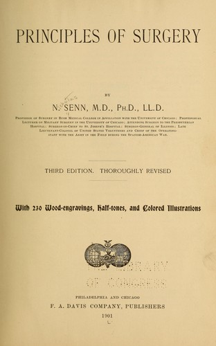 Download Principles of surgery