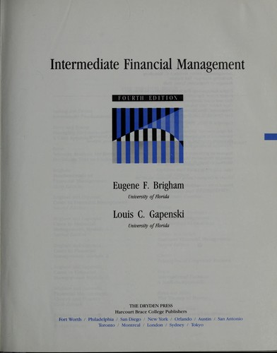Intermediate financialmanagement