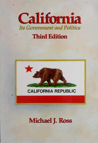 California, its government and politics