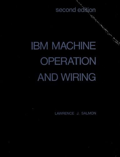 IBM machine operation and wiring