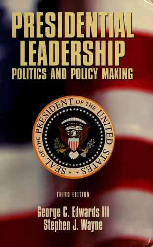 Download Presidential leadership