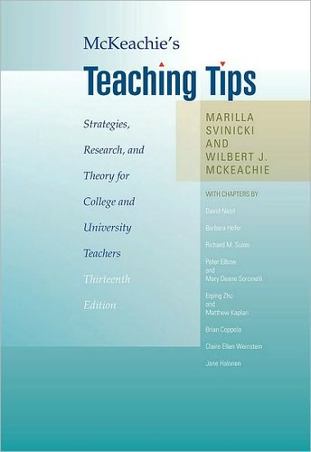 Image for McKeachie's Teaching Tips: Strategies, Research, and Theory for College and University Teachers