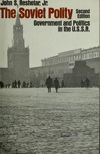 The Soviet Polity