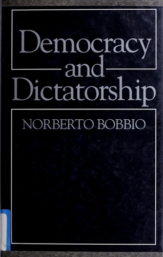 Democracy and dictatorship