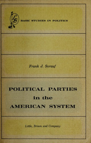 Political parties in the American system.