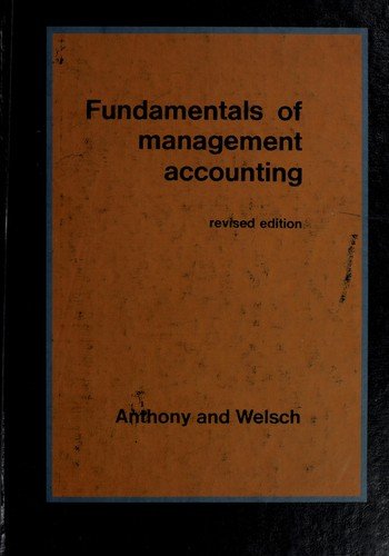 Download Fundamentals of management accounting