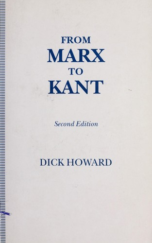 From Marx to Kant