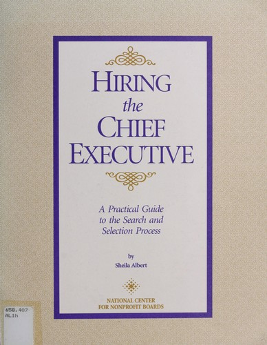 Download Hiring the chief executive