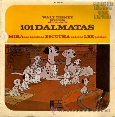 101 Dalmatas by Walt Disney