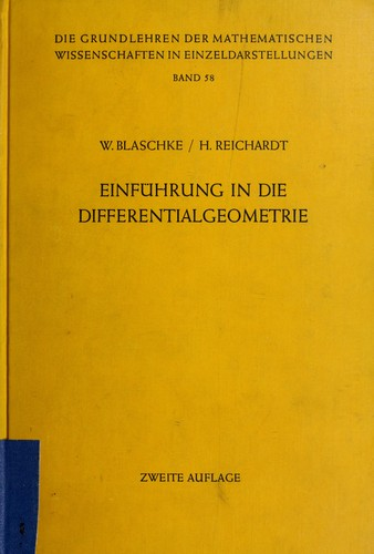 Download Einführung in die Differentialgeometrie