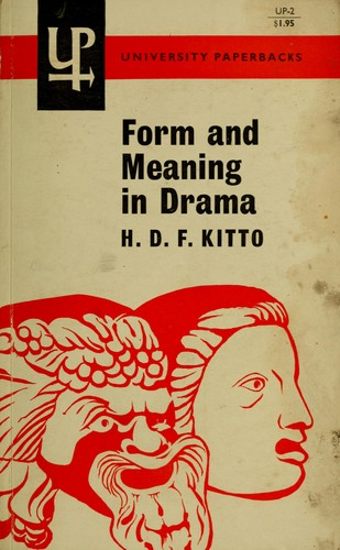 Form and meaning in drama
