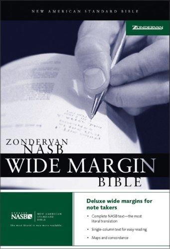Download Zondervan NASB Wide Margin Bible
